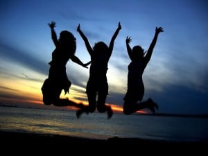 2079.bigstockphoto three girl friends celebrating 212140 300x225 Celebrating You