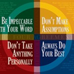 4agreements 150x150 Toltec Wisdom   Intent vs. Intention