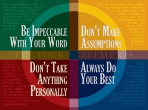 4agreements 300x223 Keeping it Simple