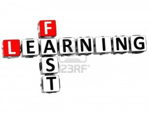 14378282 3d fast learning crossword on white background 300x228 How To Learn Anything Fast