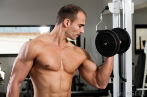 shirtless-man-lifting-weights