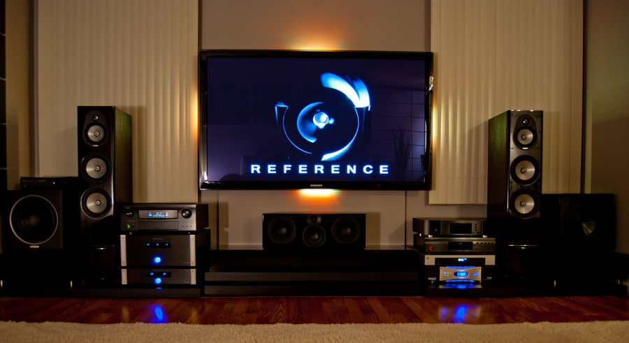 Movies movies movies in your own house movie theater robert jr graham - Living room home theater ...