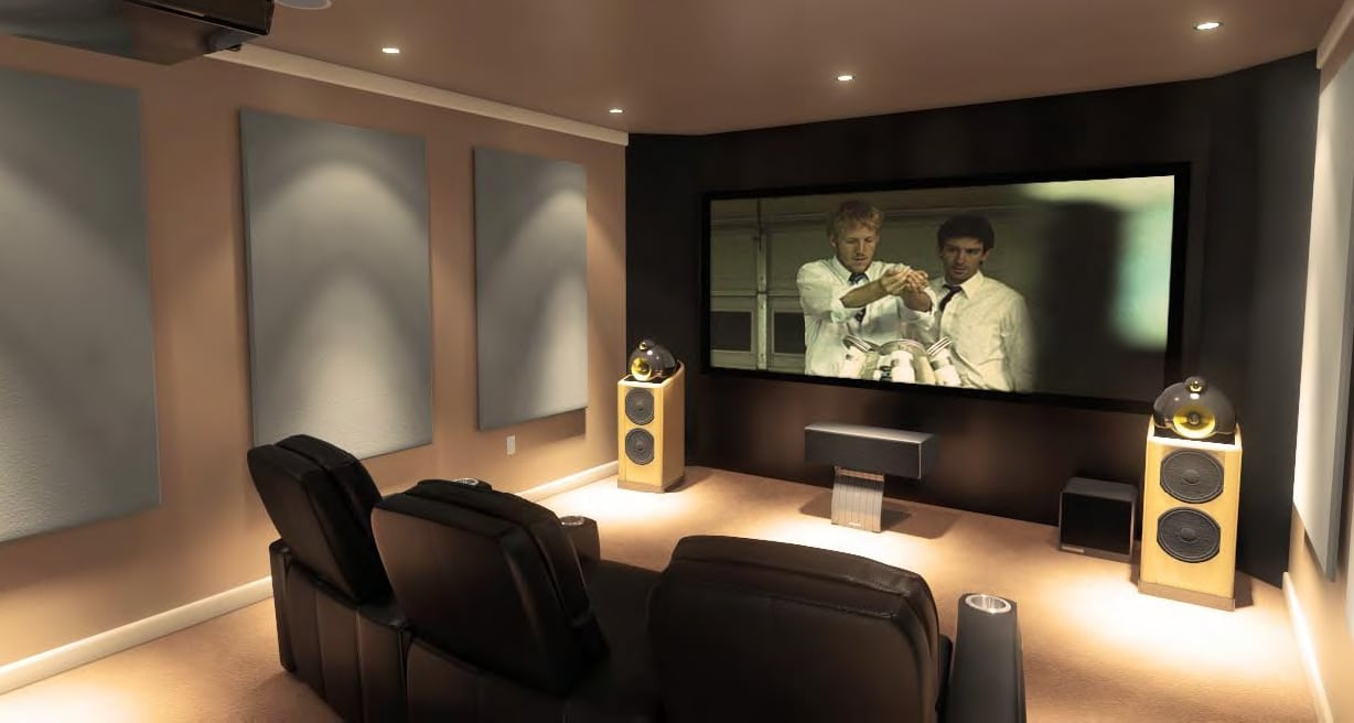 Home Theater Enjoy The Entertainment Of Movie Theaters