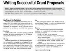 A Guide For Writing A Funding Proposal  Business Funding Proposal Template