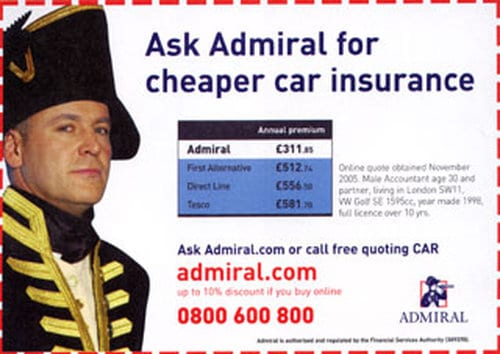 admiral car insurance review Admiral reviews  beware of admiral car insurance where find out after we had purchase car insurance it was only for 10 months not 12 months.