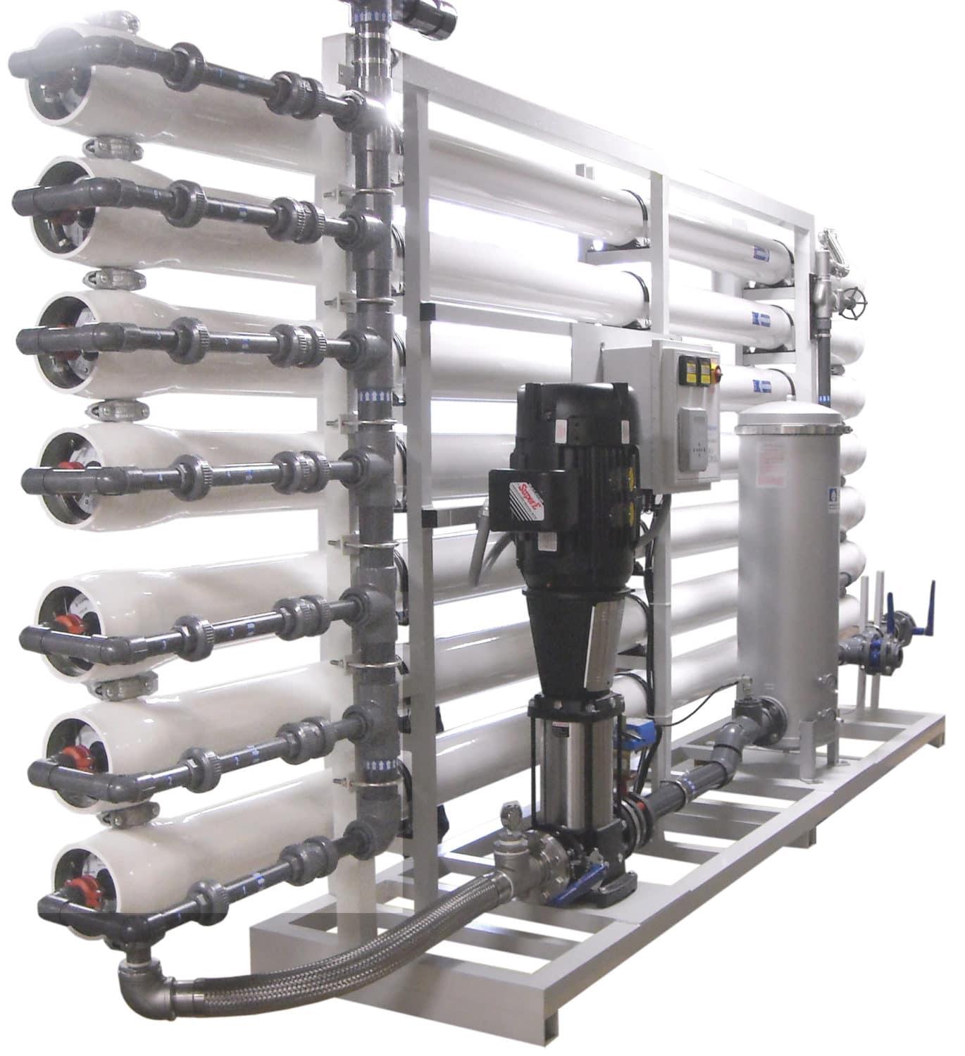 how to clean pressurised ro water tank