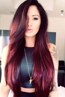 For Blondes Try Mixin Red Hair Color Ideas